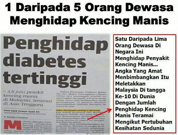 ubat kencing manis diabetes