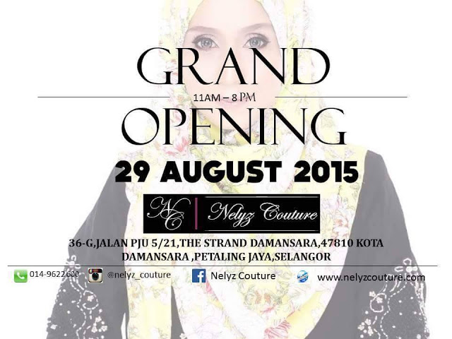 Grand Opening Nelyz Couture Boutique