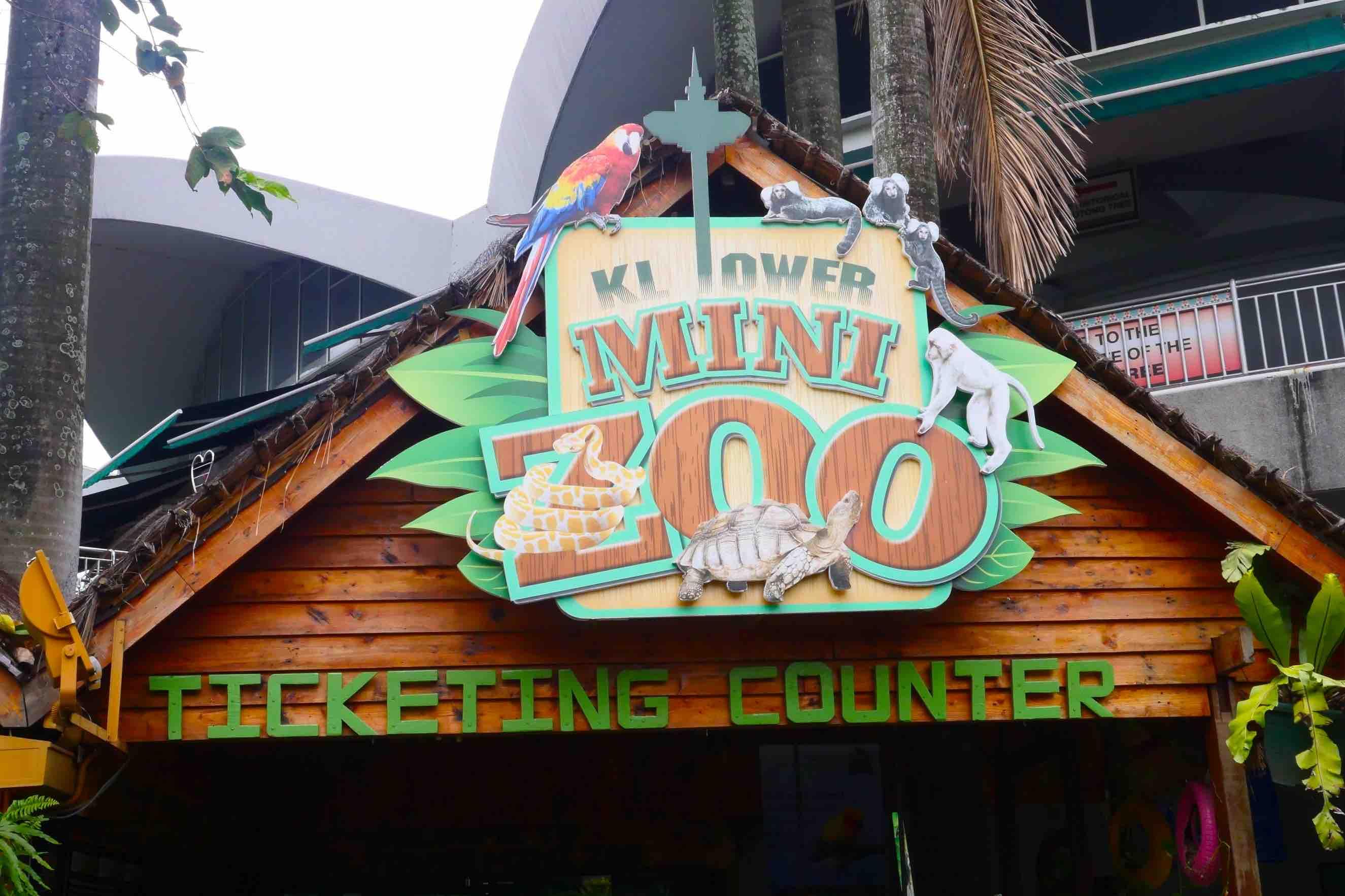 KL Tower Mini Zoo , Jom bawa Anak Anak Cuti Sekolah ni