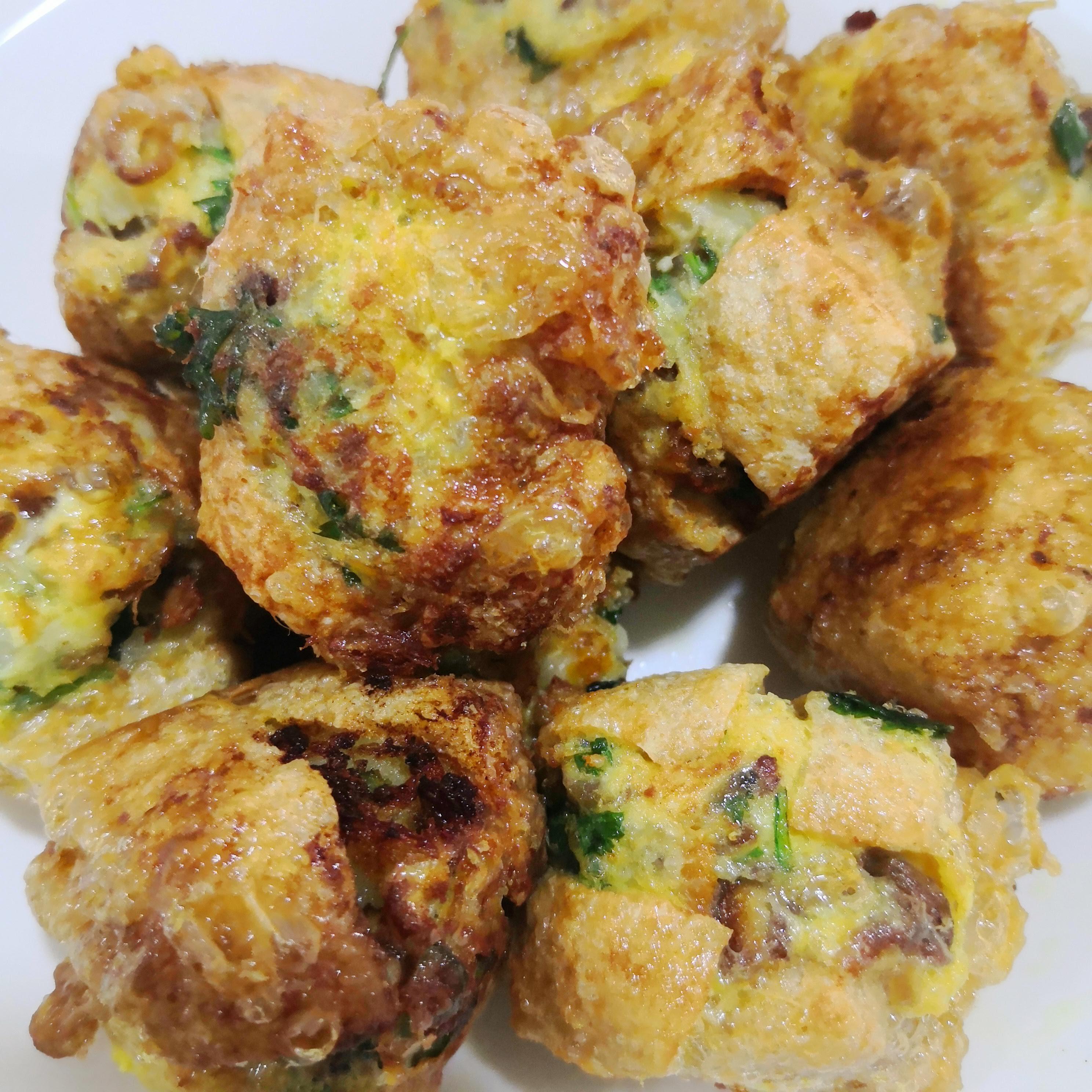 Tauhu Bergedil Resepi Senang & Ini Versi Vegetarian Punya
